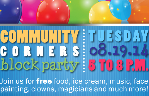 Community Corners Block Party