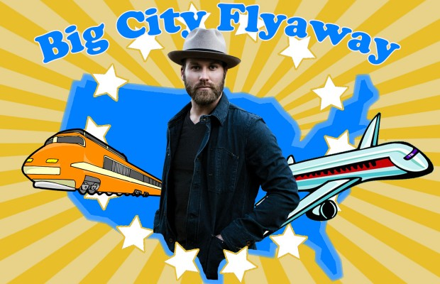 We Have A Winner for The Big City Flyaway!