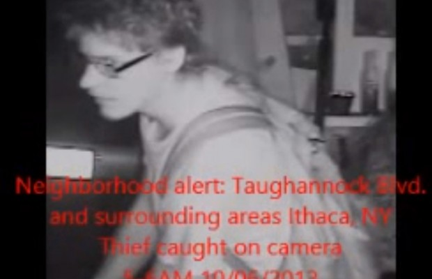 Have you seen the video of the Taughannock thief?