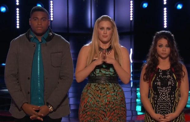 'The Voice' : Live Round Eliminations