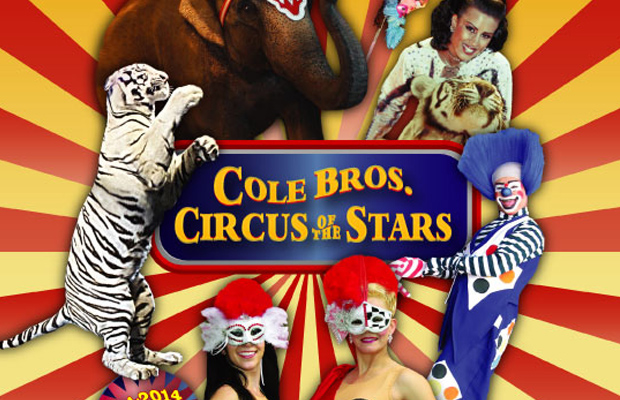 cole bros circus of the stars wqny qcountry 103 7. Black Bedroom Furniture Sets. Home Design Ideas
