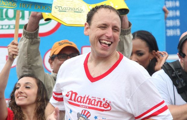 "Joey Chestnut on the ""Spiedie Eating Contest"""