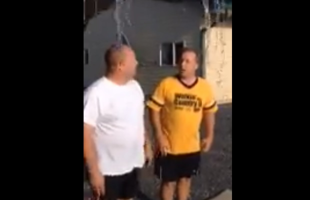 Don Davis and Chris Get Dunked!
