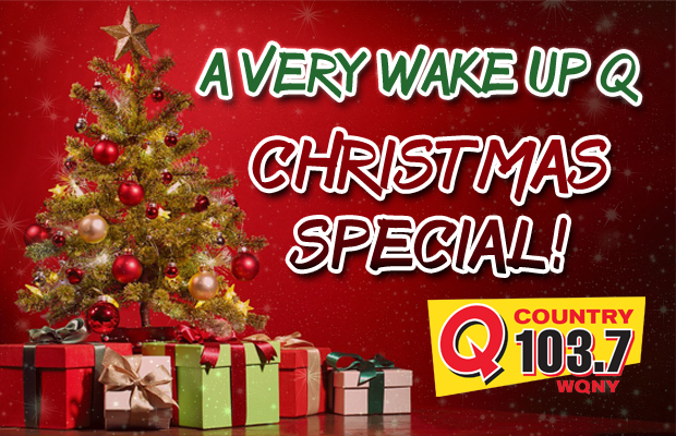 a very wake up q christmas special hear it here wqny qcountry 1037 - Christmas Special