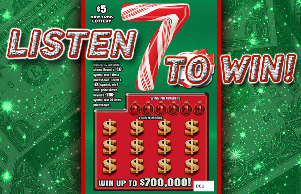 Holiday 7 from the New York Lottery | WQNY QCountry 103 7